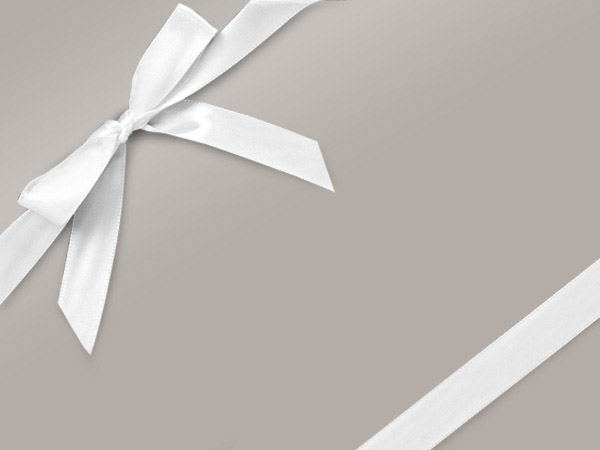 "Silver Ultra Gloss 36""x417' Gift Wrap Half Ream Roll"
