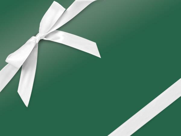 "Forest Green Ultra Gloss Gift Wrap 24""x833', Full Ream Roll"