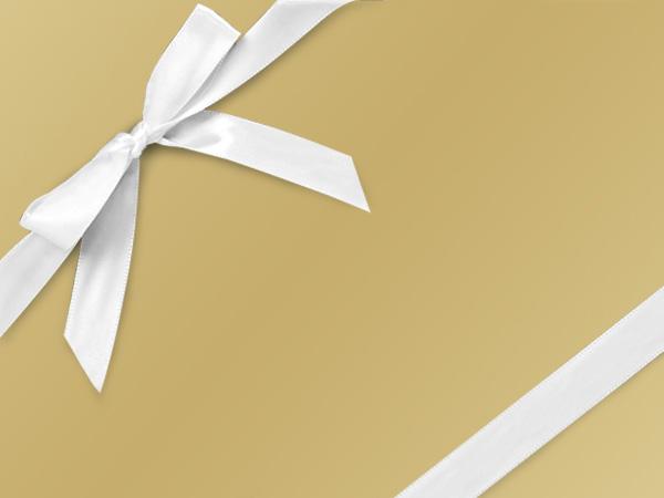 "Bronzed Gold Ultra Gloss 24""x833' Gift Wrap Full Ream Roll"