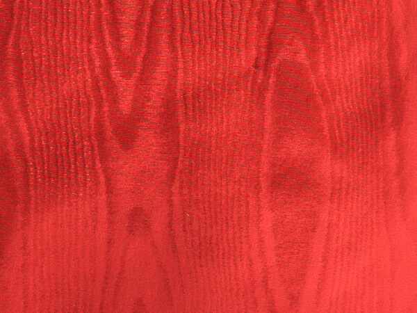 "Red Moire  7-3/8""x100' Gift Wrap Jeweler's Roll"