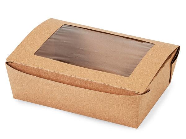 Bio Plus Earth Recycled Kraft Window Box 8-1/2x6-1/4x2-1/2