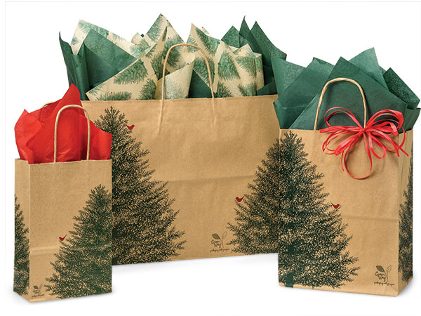 Evergreen Paper Shopping Bags