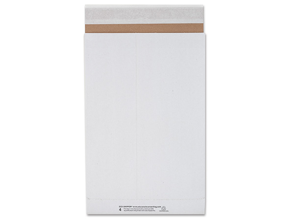 "9-1/2x14-1/2"" White Peel & Stick 25 Pack Mailers 126 lb Paper"