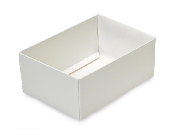 """White Small Folding Box Base, 4.75x3.25x2"""", 50 Pack"""