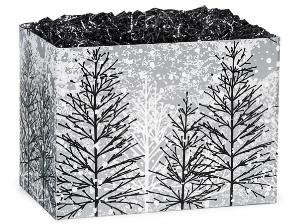 Frosted Forest Basket Boxes