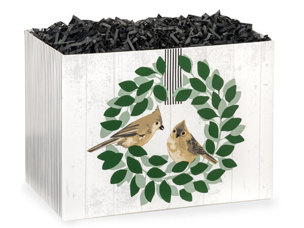 Farmhouse Birds Basket Boxes