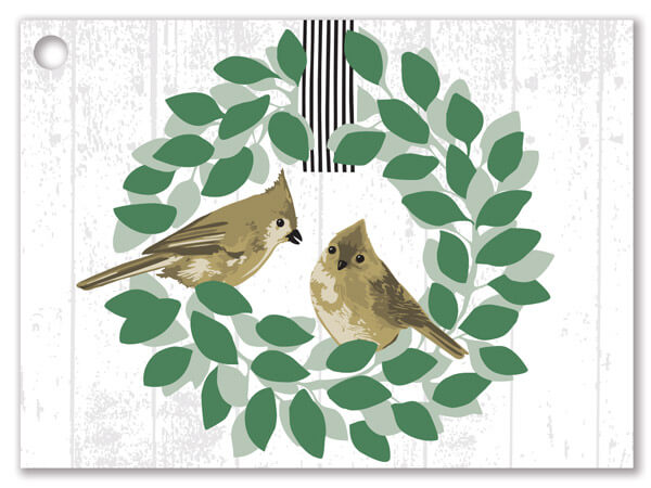Farmhouse Birds Gift Cards 3-3/4x2-3/4""