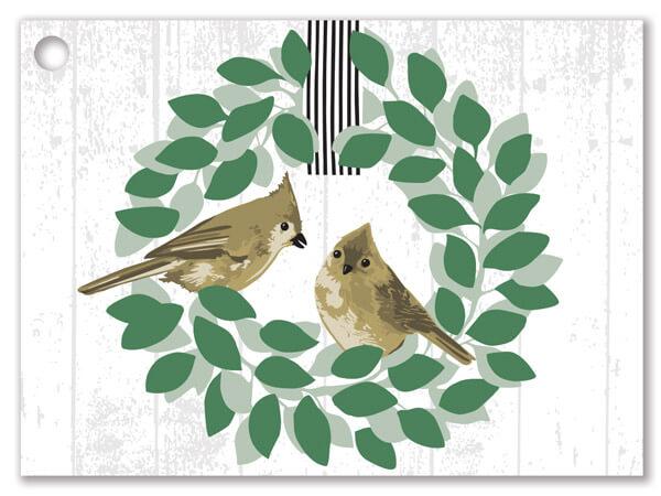 """Farmhouse Birds Theme Gift Card, 3.75x2.75"""", 6 Pack"""