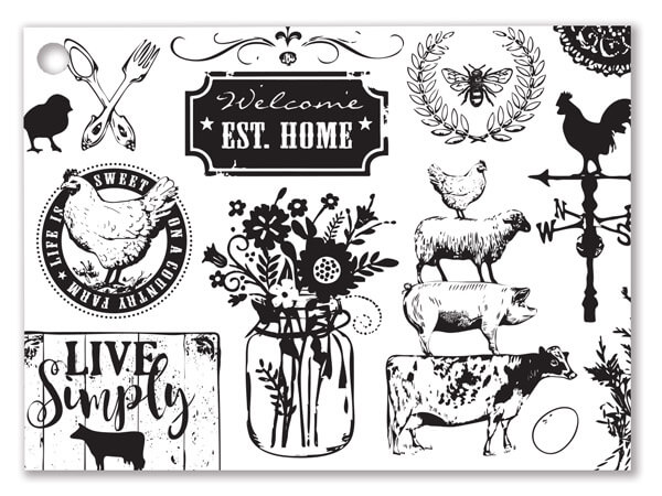 Farmhouse Favorites Gift Cards 3-3/4x2-3/4""