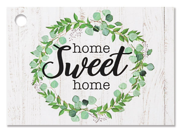 Farmhouse Home Sweet Home Theme Gift Cards, 3.75x2.75, 6 Pack