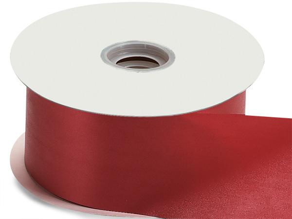 "Red Flora Satin Ribbon 2-3/4""x100 yds"
