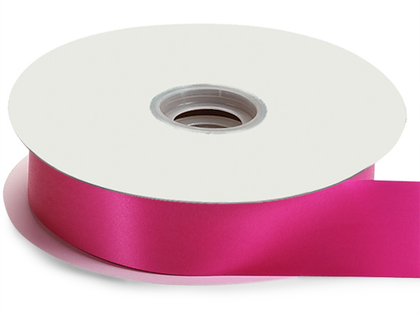 "Pink Beauty Flora Satin Ribbon, 1-7/16""x100 yards"