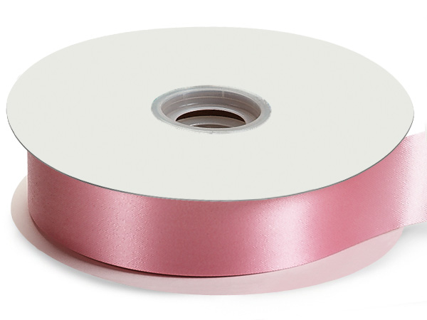"Pink Flora Satin Ribbon 1-7/16""x100 yds"