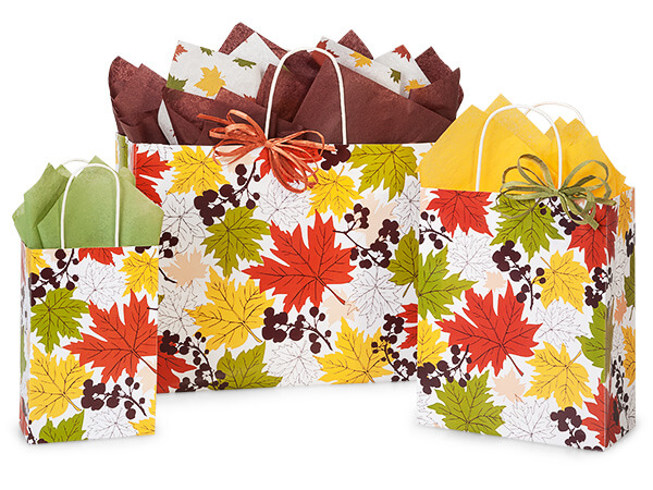 Falling Leaves Assortment 50 Rose, 50 Cub, 25 Vogue Bags