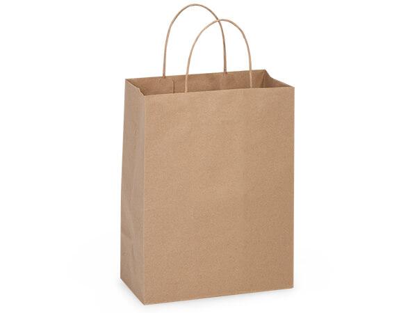 "Turn Top Cub Brown Kraft Bags, 8x4x10"", 250 pack"