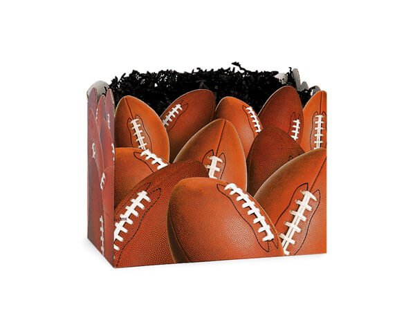 Small Football Basket Boxes 6-3/4x4x5""