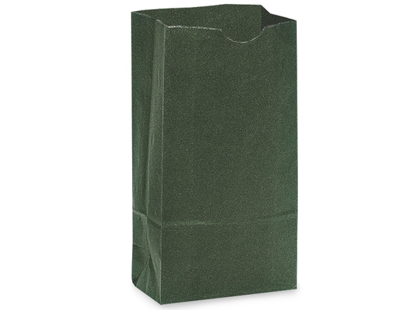 "Hunter Green 12 lb Gift Sacks, 7x4.25x13.75"", 500 Pack"