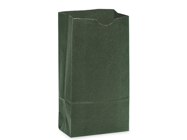 "Hunter Green 2 lb Gift Sacks, 4.25x2.25x8"", 500 Pack"