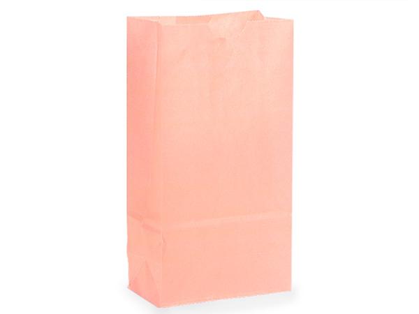 "Petal Pink 2 lb Gift Sacks, 4.25x2.25x8"", 500 Pack"