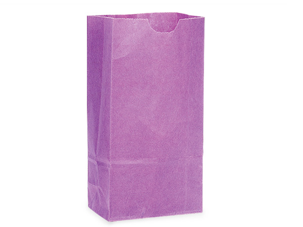 "Purple 2 lb Gift Sacks, 4-1/4x2-3/8x8-3/16"", 500 Pack"