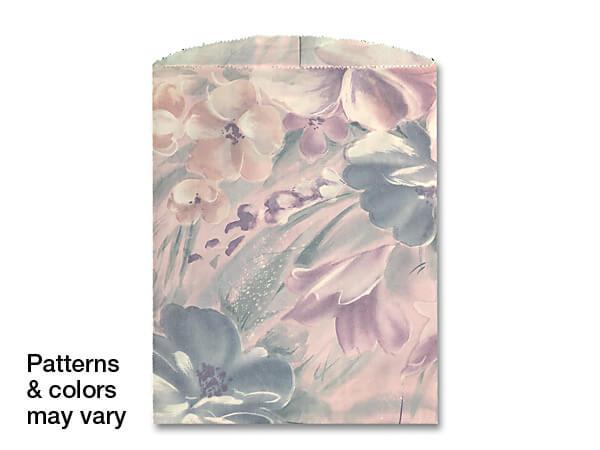 "8-1/2x11"" Merchandise Bags Reclaimed Paper (Random Designs)"
