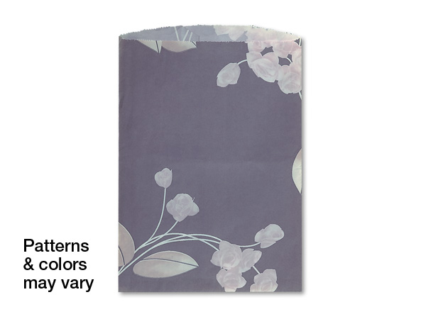 "10x13"" Random Design Reclaimed Paper Merchandise Bags, 1000 Pack"