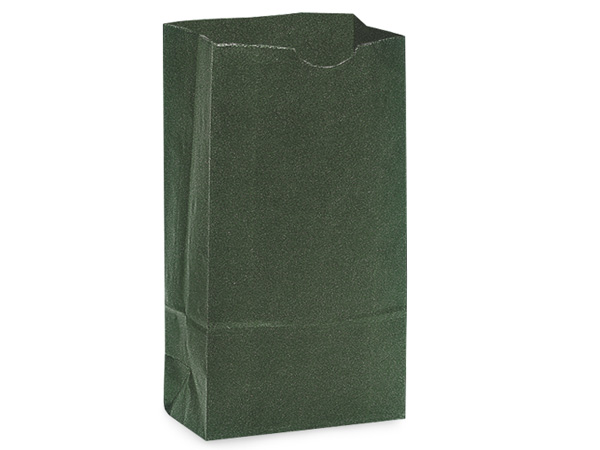 "Hunter Green 4 lb Gift Sacks, 5x3x9.5"", 500 Pack"