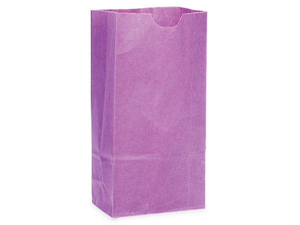 "Purple 2 lb Gift Sacks, 5x3-1/8x9-5/8"", 500 Pack"
