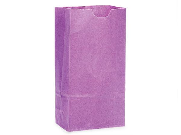 "Purple 6 lb Gift Sacks, 6x3.5x11"", 500 Pack"
