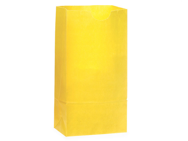 "Sunbrite Yellow 6 lb Sacks, 6x3-5/8x11-1/16"", 500 Pack"