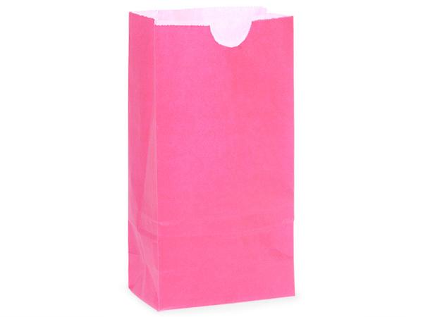 """500 6 lb Gift Sacks Wild Rose Kraft 6x3-5/8x11-1/16"""""""