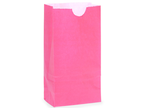 "Wild Rose 8 lb Gift Sacks, 6-1/4x3-13/16x12-1/2"", 500 Pack"