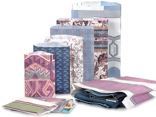 Random Design Reclaimed Paper Merchandise Bag Assortment 500 Pack