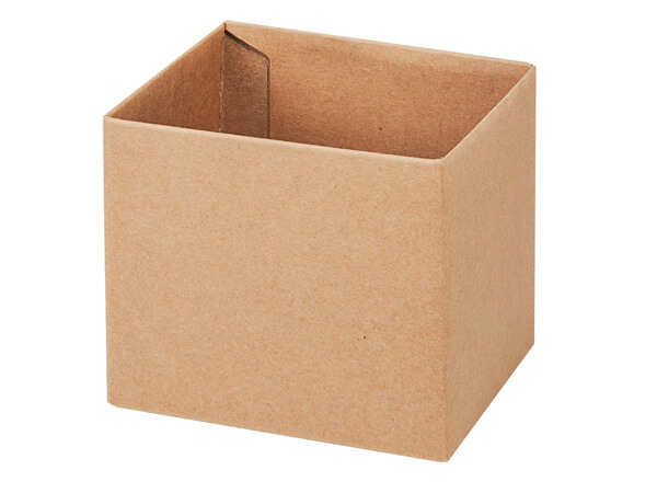 "Kraft Box Bases, 4x4x3.5"""