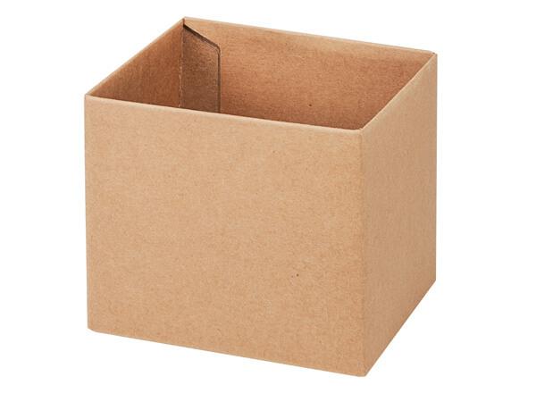 "Kraft Box Bases, 4x4x3.5"", 10 Pack"