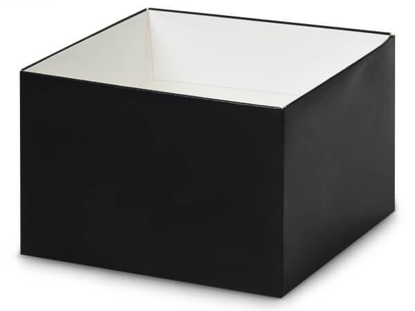 """Matte Black Box Bases, 6x6x4"""""""