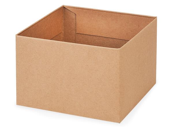 "Kraft Box Bases, 6x6x4"""