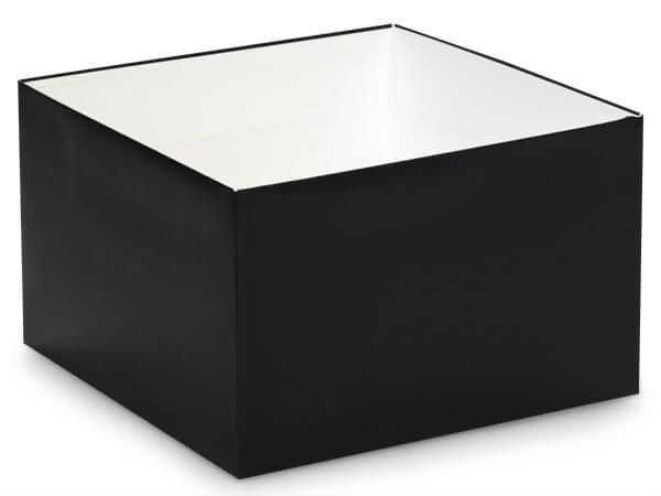 """Matte Black Box Bases, 8x8x5"""""""