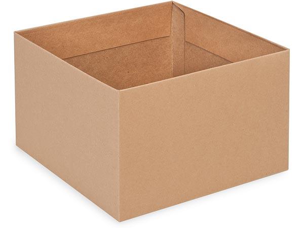 "Kraft Box Bases, 8x8x5"", 10 Pack"