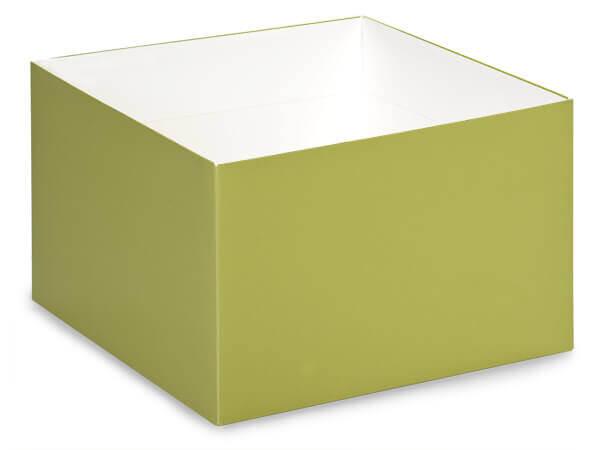 "Matte Sage Box Bases, 8x8x5"", 10 Pack"