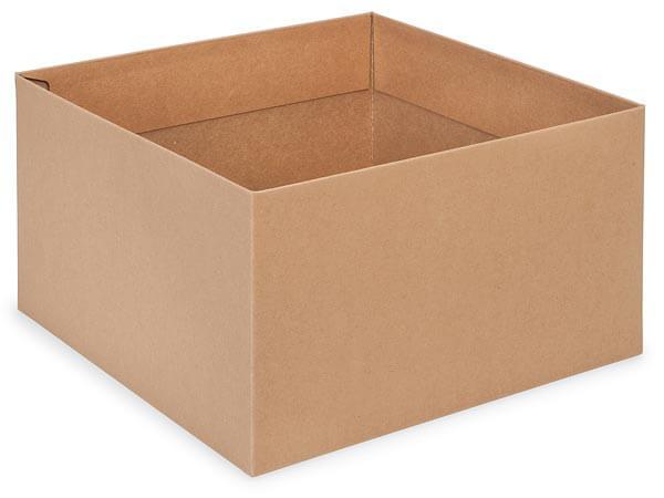 "Kraft Box Bases, 10x10x5.5"",25 Pack"