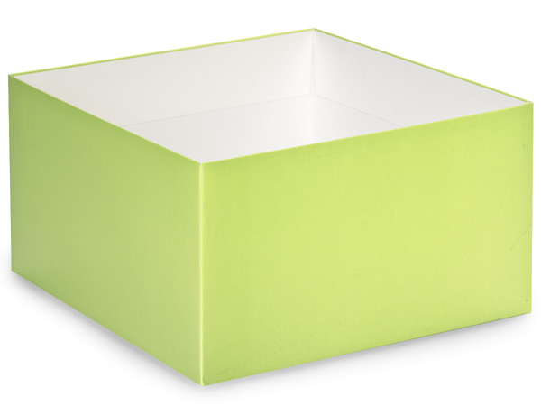 Matte Pistachio Box Base 10x10x5.5""