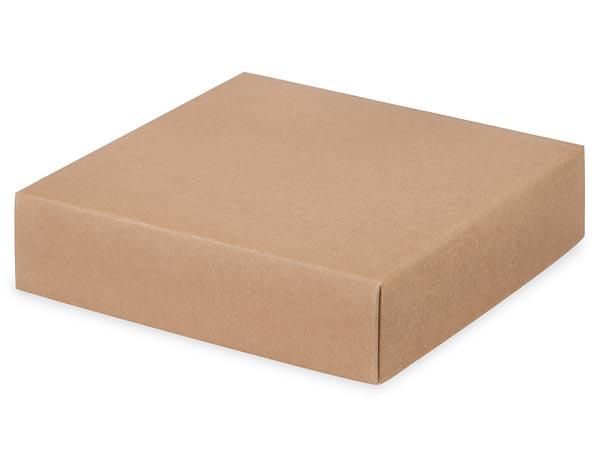 """Kraft Box Lids, 6x6x1.5"""",25 Pack"""
