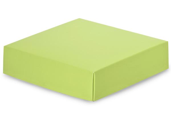 """Matte Pistachio Box Lids, 6x6x1.5"""", 5 Pack"""