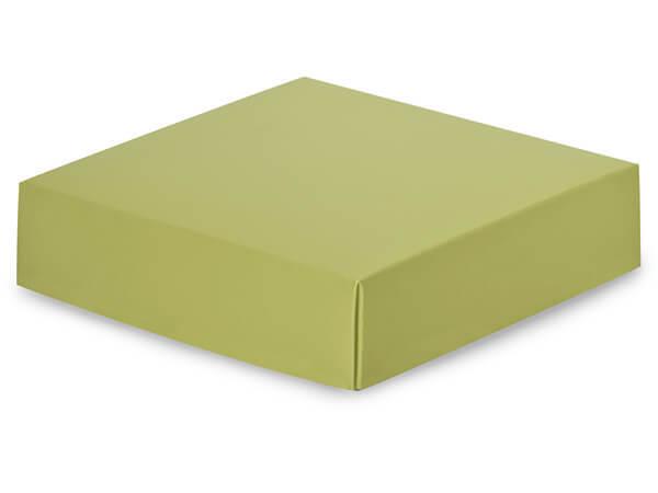 "Matte Sage Box Lids, 6x6x1.5"", 10 Pack"