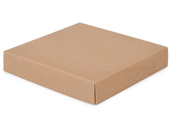 """*Kraft Box Lids, 8x8x1.5"""", 10 Pack"""