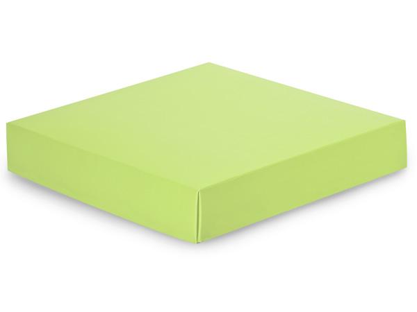 """Matte Pistachio Box Lids, 8x8x1.5"""""""