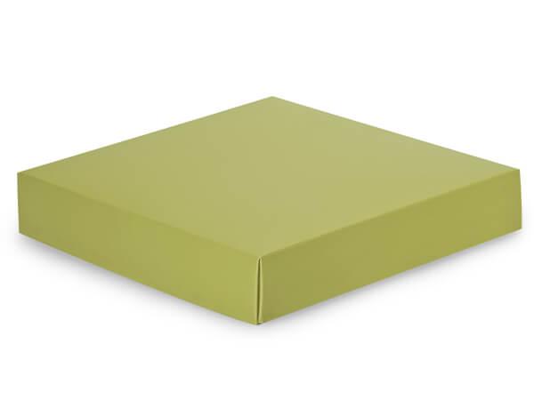 "Matte Sage Box Lids, 8x8x1.5"", 25 Pack"