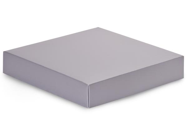 """Metallic Silver Box Lids, 8x8x1.5"""", 10 Pack"""
