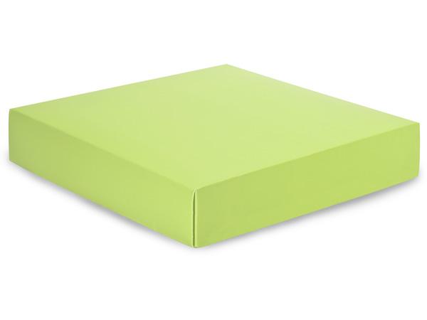 """Matte Pistachio Box Lids, 10x10x2"""", 5 Pack"""